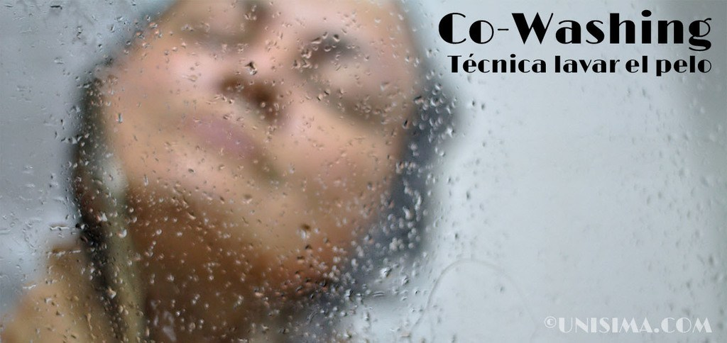 Co-Washing técnica para lavar el cabello