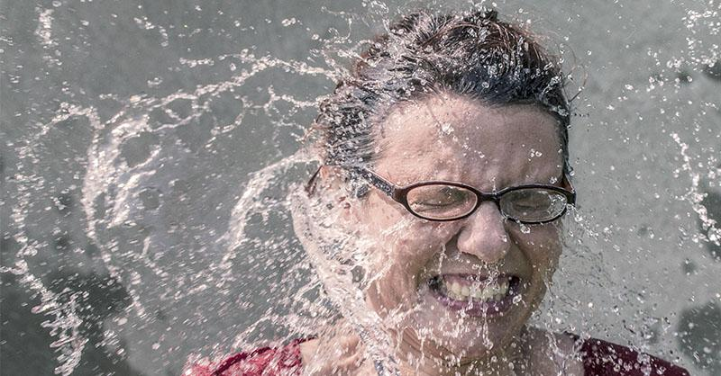 Cosméticos microbiota en lavar la cara