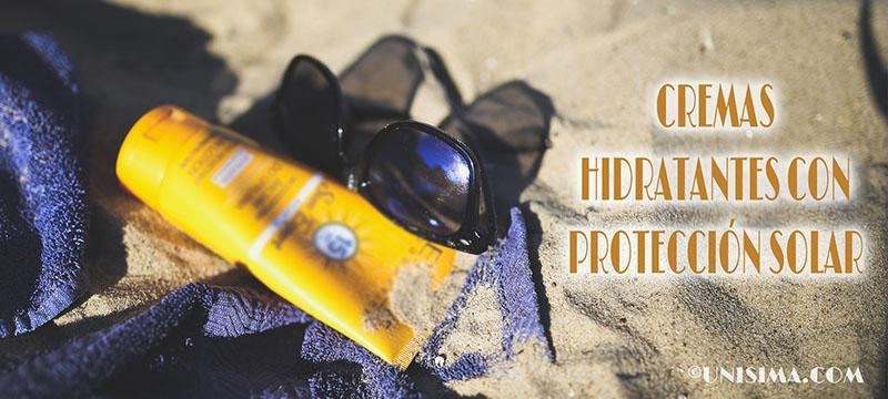 Crema hidratante con protección solar