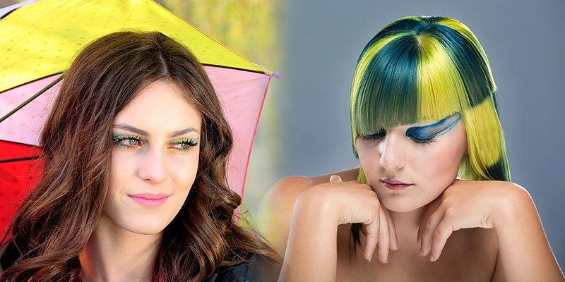 Diferencias entre tinte permanente y baño de color