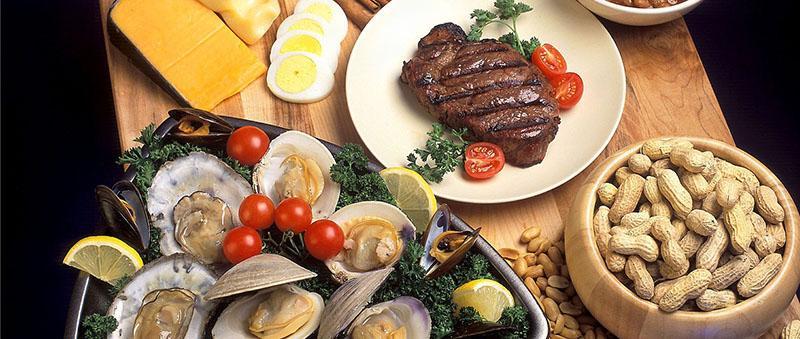 Alimentos fuente de zinc