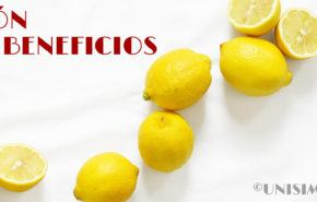 Limón: Beneficios y Recetas para Bajar de Peso rápidamente