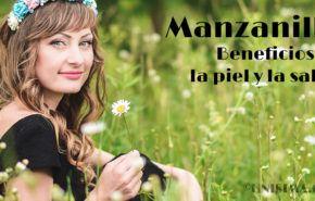 Manzanilla / Camomila: Beneficios para la Piel y la Salud