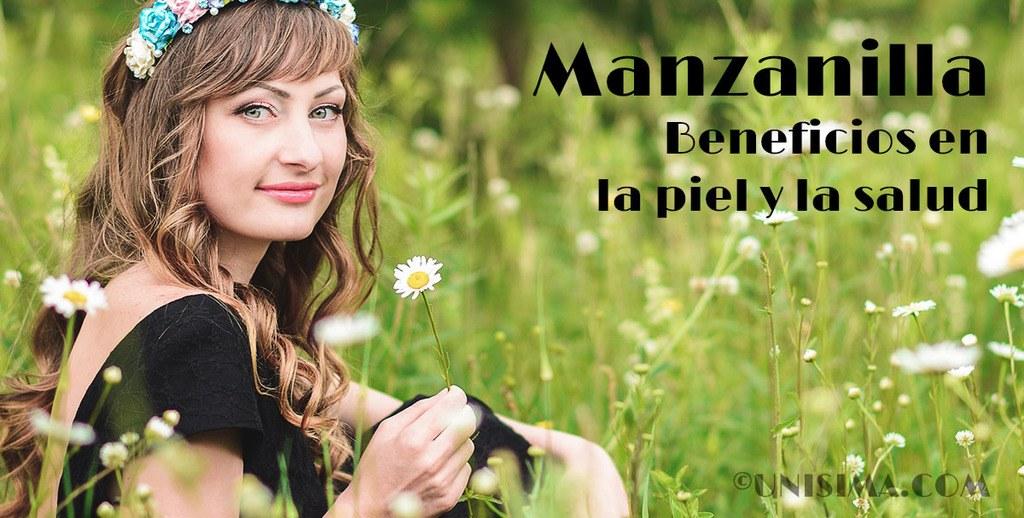 Manzanilla / camomila para la piel y la salud