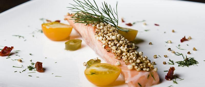 quinoa con pescado