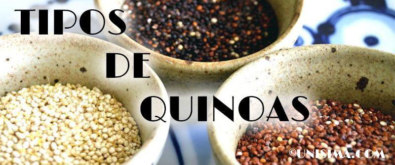Quinoa negra, blanca y roja