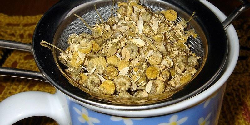 recetas de té de manzanilla o camomila