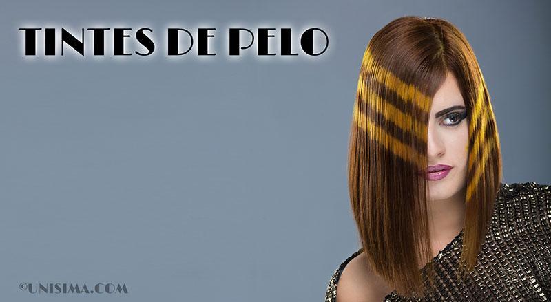 Tintes de pelo en cabellos