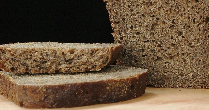 Pan de centeno rico en cobre