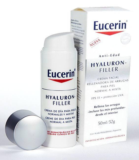 Crema Antiarrugas Hyaluron-Filler-Antiedad de Eucerin