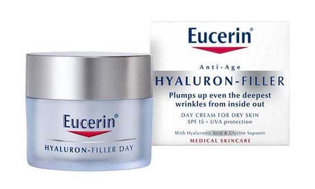 Hyaluron-Filler Crema de Día para piel seca de Eucerin