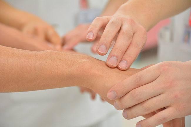 Masaje en limpieza de piel