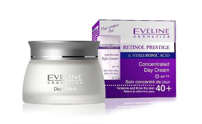 Retinol Prestige & Hyaluronic Acid Concentrated Day Cream de Eveline Cosmetic