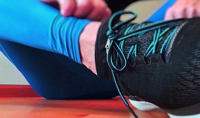 Calzado adecuado para evitar problemas de rodilla