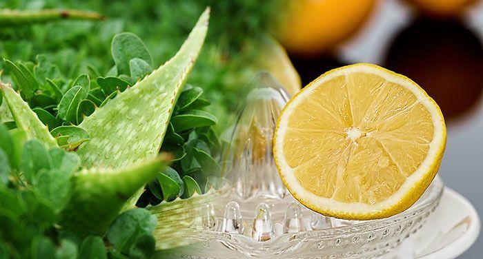 Aleo vera y limón como tratamiento en manchas de la piel