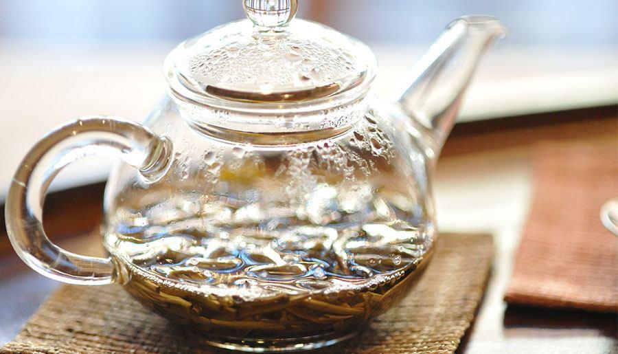 Preparación del té Verde