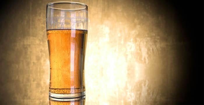 Bebida gasificante: cerveza