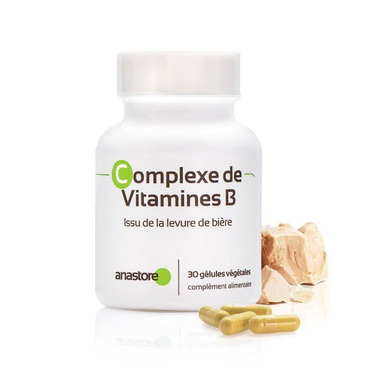 Anastore Complejo Vitaminas B Suplemento