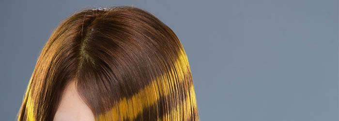 Corrige raiz por brillo del pelo