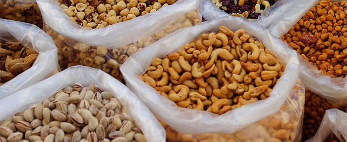 Frutos secos ricos en magnesio