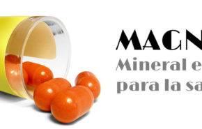 Magnesio: Mineral esencial para la salud