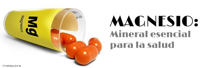 Magnesio mineral esencial para la salud