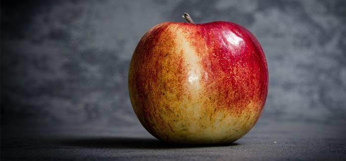Manzana como ingrediente de zumo