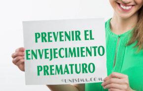 ¿Cómo prevenir el envejecimiento prematuro?