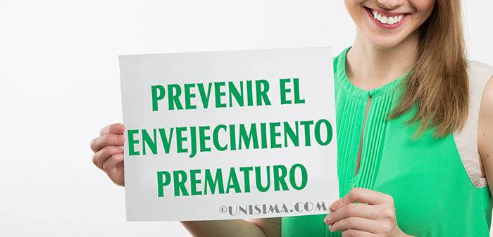 Prevenir el envejecimiento prematuro