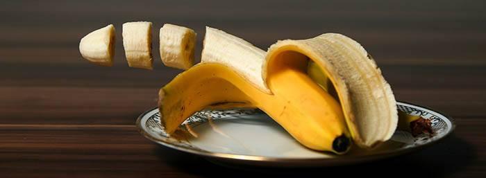 Plátano rico en potasio