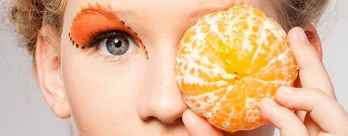 Vitamina C en mandarina