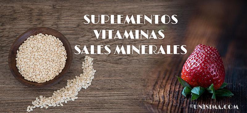 Que funcion cumplen las vitaminas y sales minerales