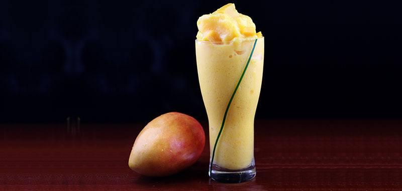 Batidos de vitaminas con mango