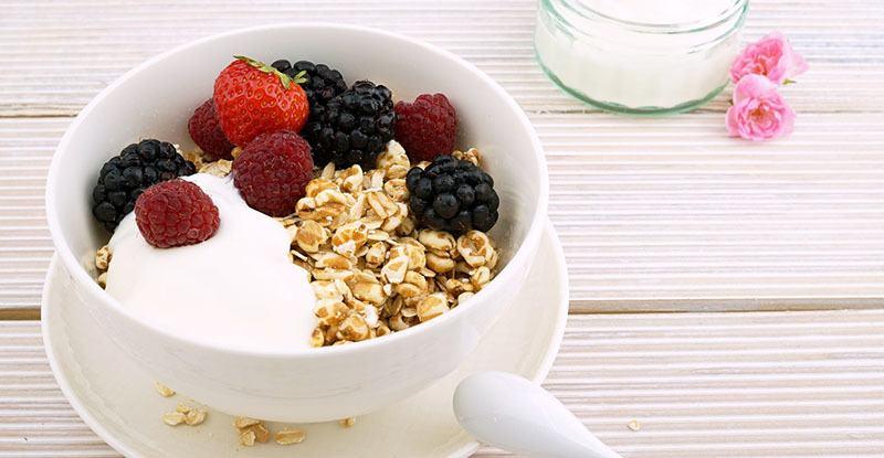 desayuno con carbohidratos