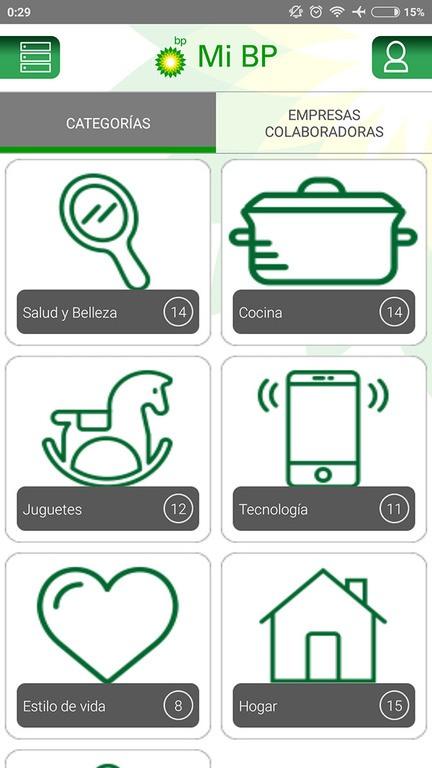 Canjear puntos por Regalos app Mi BP