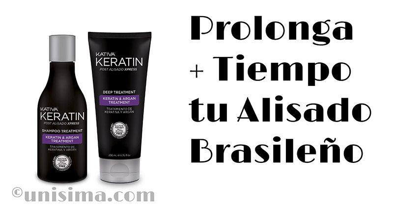 Post alisado brasileño con keratina kativa Keratin