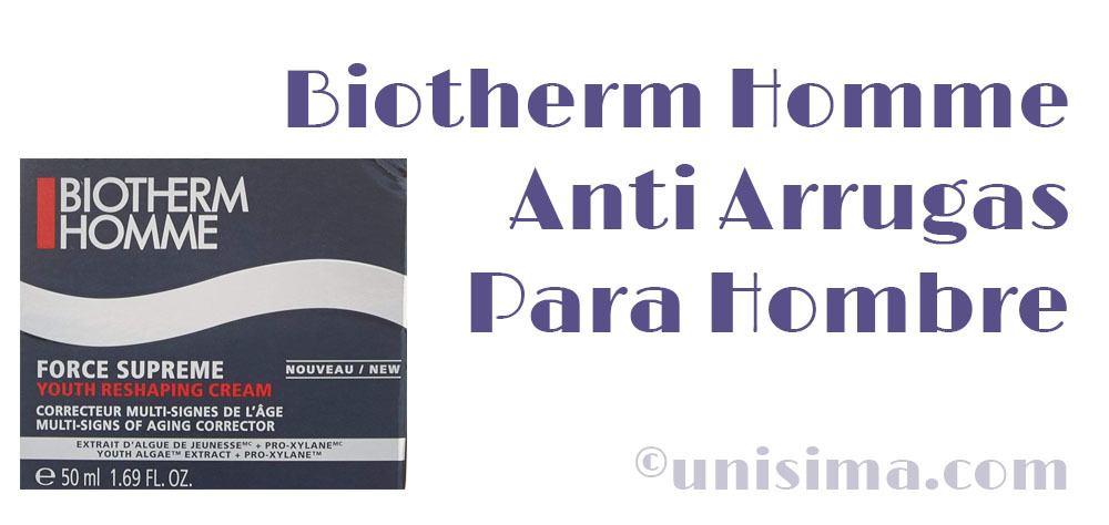 Biotherm Homme Antiarrugas para hombre