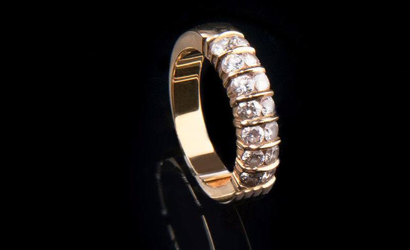 "anillo eternidad o ""eternity"""