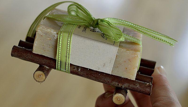 Ideas de boda: Jabón para regalo de invitados