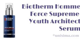 Youth Architect Force Supreme de Biotherm Homme, Análisis y Alternativa