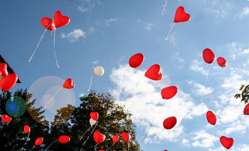 Ideas de boda: Soltar globos en la boda