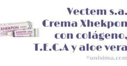 Cuidado facial Crema Xhekpon de Vectem s.a., Análisis y Alternativa