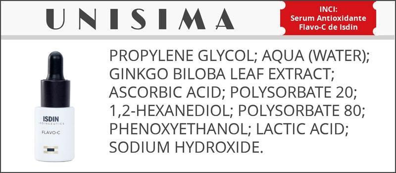 Isdinceutics Serum Antioxidante Flavo-C de Isdin