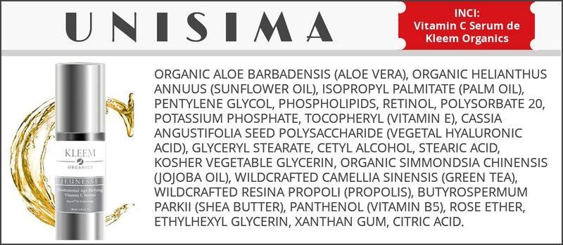 Professional Age Defying Vitamin C Serum de Kleem Organics