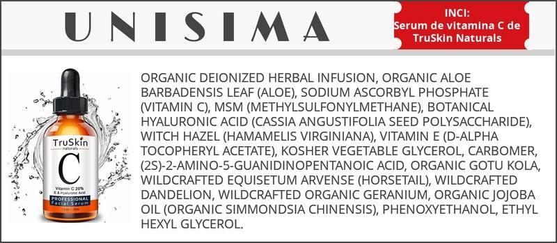 Serum de vitamina C de TruSkin Naturals
