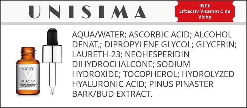 Liftactiv Dosis antioxidante y antifatiga de Vichy
