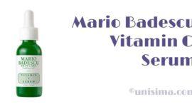 Vitamin C Serum de Mario Badescu, Análisis y Alternativa