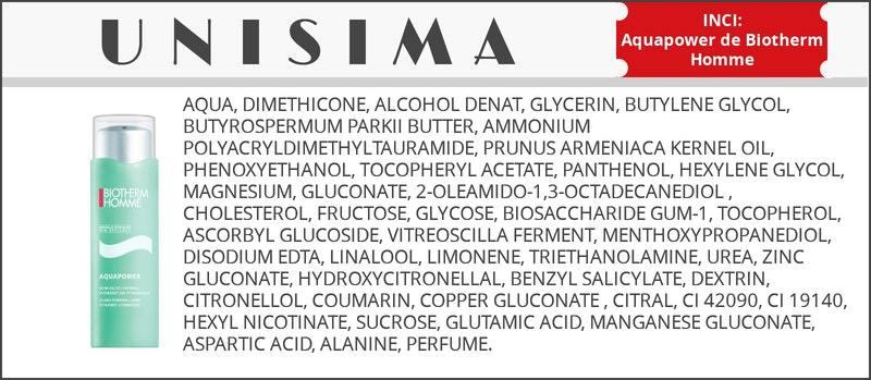 inci crema hidratante biotherm