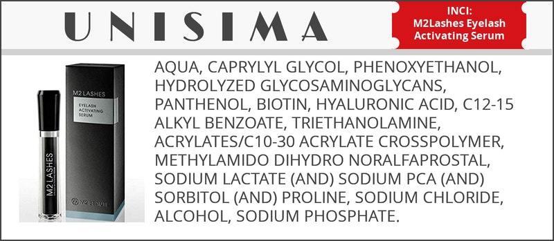 inci serum m2lashes