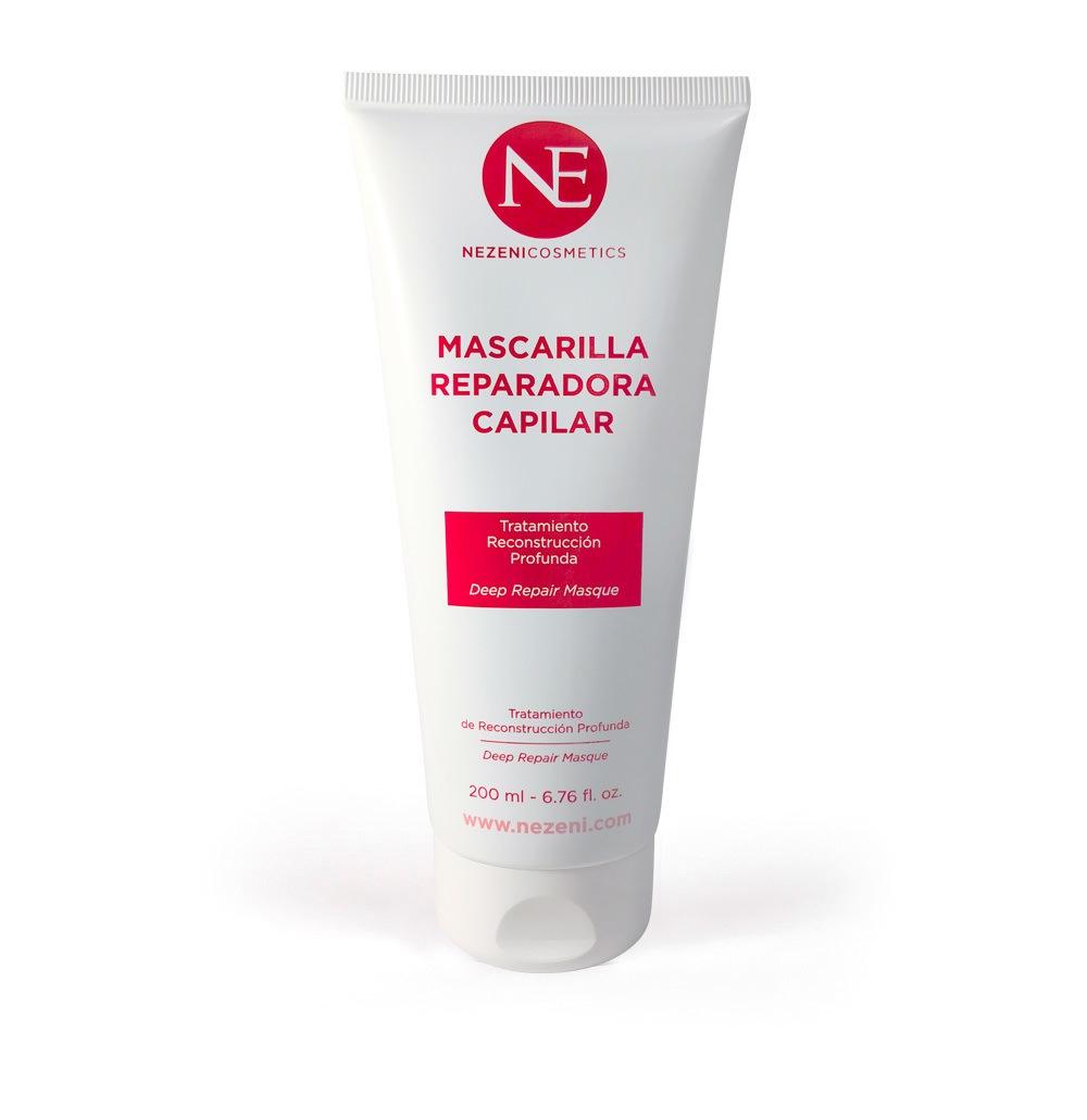 Mascarilla Reparadora Capilar Nezeni Cosmetics